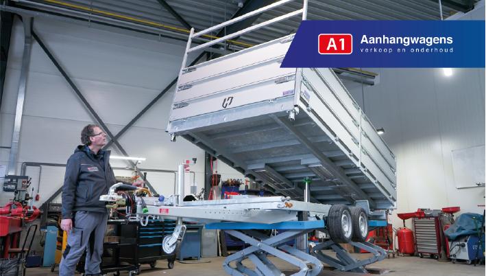 Aanhangwagen kopen A1 aanhangwagens